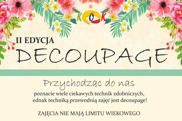II Edycja Decoupage