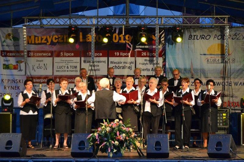 19.07.2019 r. Muzyczne lato – muzyka chóralna – 30-lecie Chóru JUTRZENKA