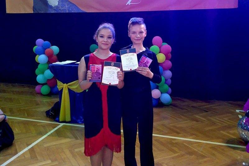 Tancerze z KOK-u na podium w Oławie
