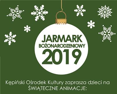 Zapraszamy dzieci do udziału w animacjach świątecznych – Jarmark 2019