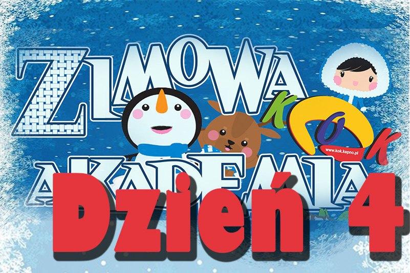 Zimowa Akademia KOK 2020 – dzień 4