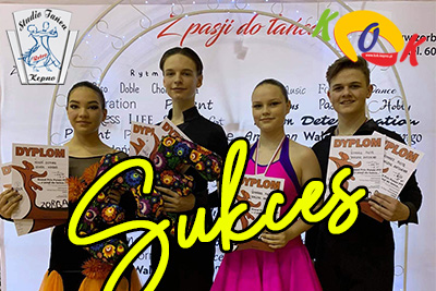 SUKCES tancerzy Studia RETRO