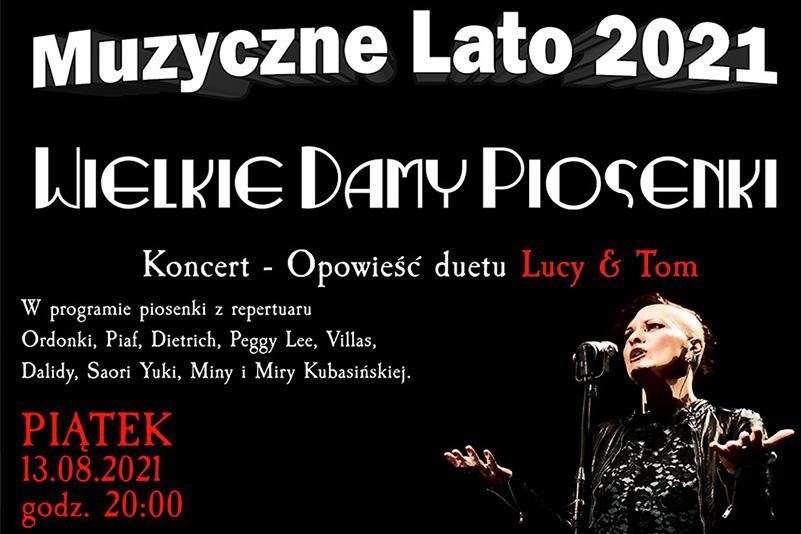 Muzyczne Lato 2021 – LUCY & TOM w Kępnie!