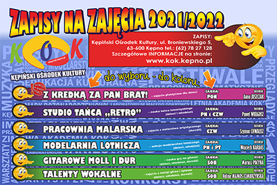 Pracownie KOK 2021/2022